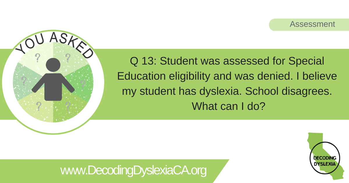 Special Education Eligibility And Dsm 5 >> Independent Educational Evaluation Iee Archives Decoding Dyslexia Ca